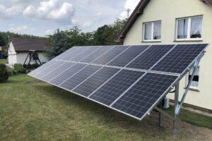 Fabryka Energii - Realizacja - panele fotowoltaiczne - instalacja na gruncie